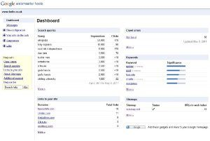seoCon google webmaster tools