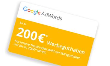 Google Adwords Gutschein